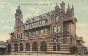 PITTSBURGH , Pennsylvania, 1916 ; Fort Wayne Railroad Station