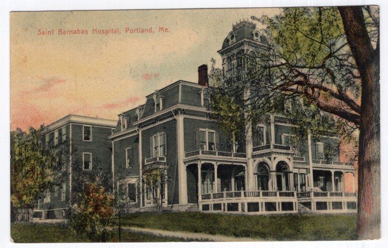 Portland, Me, Saint Barnabas Hospital