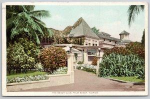 Palm Beach Florida~Flowers Grow on Roof of The Beach Club~Detroit Pub Co~c1910