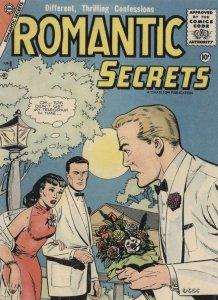 Romantic Secrets 1950s Comic Book Love Telegram Postcard