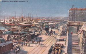 MARSEILLE, France, 1900-10s; Quais Et Bassins De La Joliette, TUCK 948 #12