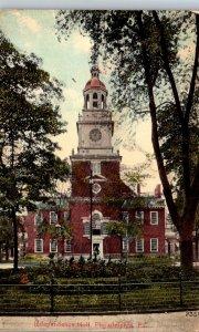 Pennsylvania Philadelphia Independence Hall 1911