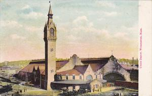 Union Railroad Depot Worcester Massachusetts