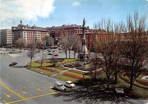 Spain Old Vintage Antique Post Card Monumentoa Colon Madrid Postal Used Unknown
