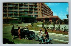 Hamilton Bermuda, Entrance To Bermudiana Hotel Chrome c1973 Postcard