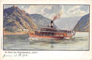 Germany  Lake Steamer, Elsa
