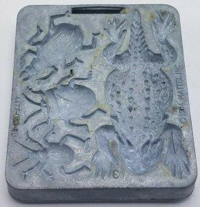 1964 Thingmaker Creepy Crawlers Bat Spider Mold Mattel 4477 053 3B Lizard Beetle