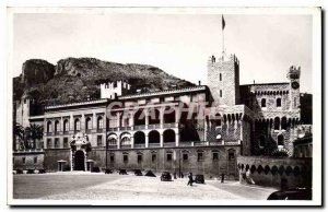 Old Postcard Principality of Monaco Palace