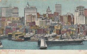 NEW YORK CITY, 1908 ; Riverfront