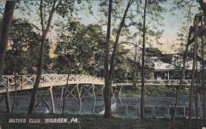 Outing Club, Bridge, WARREN, Pennsylvania, PU-1909