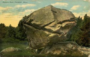 MA - Pittsfield. Balance Rock