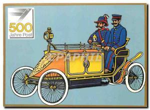 Postcard Modern farbig So wie die Geschichte der Post Automotive