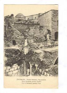 Pool Of Bethesda, General View, Jerusalem, Israel, Asia, 1900-1910s
