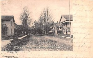 Main Street Rockland, New York Postcard