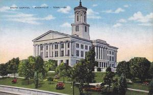 State Capital, Nashville, Tennessee, 30-40s