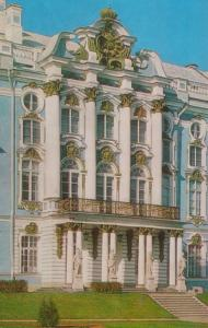 Tower Of Pushkin Catherine Palace Park Facade Leningrad Russia Postcard