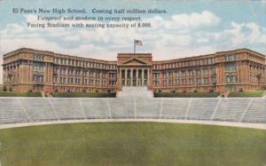 Texas El Paso New High School and Stadium Curteich