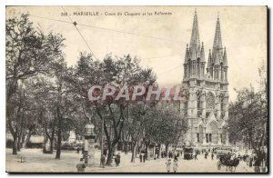 Old Postcard Marseille Course Chapter and Reforms
