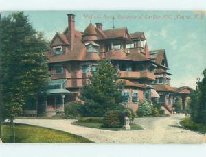 Divided-Back HISTORIC HOME Albany New York NY hJ5115