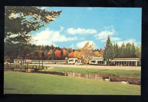 Woodstock, New Hampshire/NH Postcard, Jack O'Lantern Motor Resort