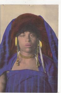 B78762 una fanciulla di brak femmes women Lybia libia  scan front/back image