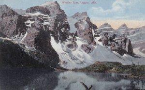 LAGGAN, Alberta, Canada, 1900-1910s; Moraine Lake
