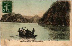 CPA AK VIETNAM TONKIN - Baie d'ALONG (550512)