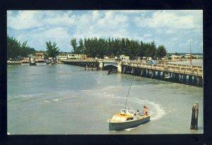 St Petersburg, Florida/FL Postcard, John's Pass, Treasure Island & Madiera Beach