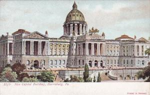 New Capitol Building Harrisburg Pennsylvania