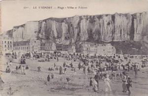 Plage- Villas Et Falaises, Le Treport (Seine Maritime), France, 1900-1910s