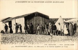 CPA Martimprey Les Mercantis et la cantine Lambert MAROC (720382)