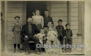 Casper, CA USA ? Photo People Unknown, 1910 postal used 1910 yellowing on bac...