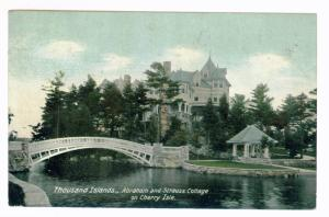 White Lake Corners to Boonville New York 1911 PPC, Thousand Islands