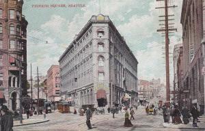 Pioneer Square, Seattle, Washington, PU-1908