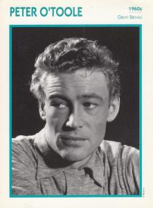 Peter O'Toole Astrology British Actor Rare Italian 8 x 5 Film Photo Card