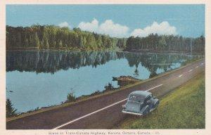 KENORA, Ontario, Canada, 1930's; Scene On Trans-Canada Highway