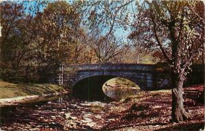 Louisville KY~Stone Arch Bridge Over Beargrass Creek in Cherokee Park '55