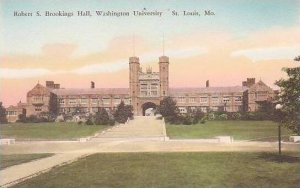 Missouri St Louis Robert S Brookings Hall Washington University Handcolored A...