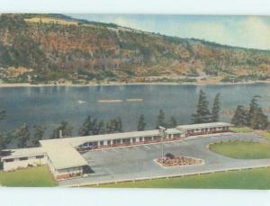 Unused Linen MEREDITH GORGE MOTEL Hood River Oregon OR M5715-22