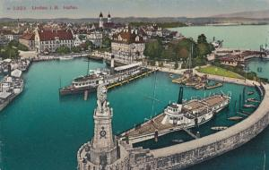 LINDAU, Germany, 1900-10s; Lindau i. B. Hafen, Harbor