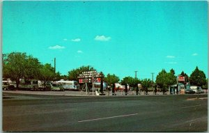 Deming, New Mexico Postcard MARTINS TRAILER PARK I-10 Roadside c1960sUnused