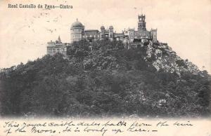 Portugal Sintra, Cintra - Real Castello da Pena 1908