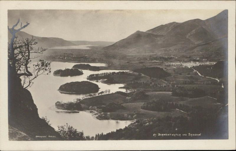 Derwentwater Skiddaw Abrahams Series Real photo