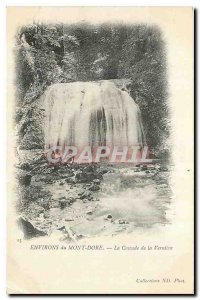 CARTE Old Post Surroundings Mont Dore La Cascade Verniere