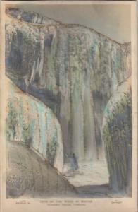 RP [embossed] Repeating postcard; Cave of the winds in Winter, Niagara Falls, On