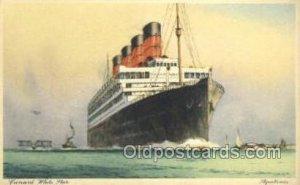 Aquitania, Cunard White Star Ship Unused