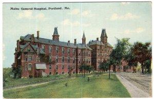 Portland, Me, Maine General Hospital