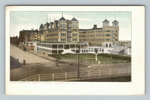 Atlantic City NJ, Hotel Islesworth Osborn & Painter, Vintage New Jersey Postcard