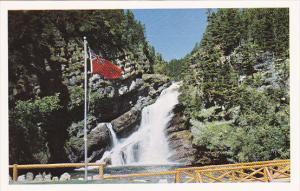 Canada Cameron Falls Waterton Lakes Park British Columbia