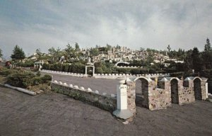 WATERBURY , Connecticut , 50-60s; Holy Land Replica, Grotto of Nativity